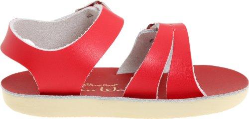 Shoe Sea Toddler Little Big Kid Sandal Wees Hoy by Salt Kid Red Women's Sandals Water qwnB8InzX
