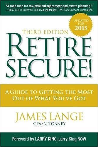 aarp retire secure lange james