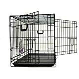 Pet Tek DPK86004 Dream Crate Professional Series 400 Dog Crate, 36 by 23 by 26-Inch, Black