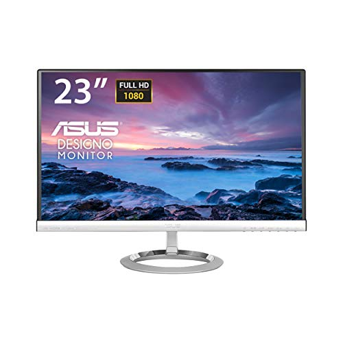 ASUS MX239H 23-Inch, Full HD 1920x1080 IPS, Audio by Bang & Olufsen ICEpower HDMI VGA Frameless Monitor - Asus X Series