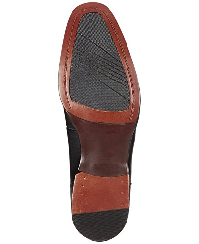 Alfani Mens Spence Con Texture Stringate Oxford Black 11m