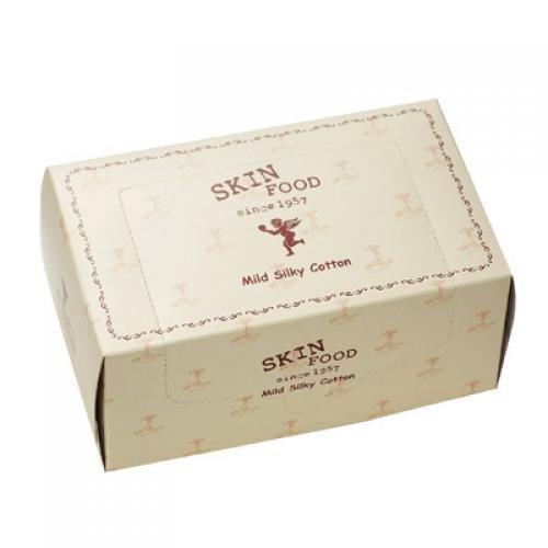 Skinfood Mild Silky Cotton 80sheets [Korean Import]