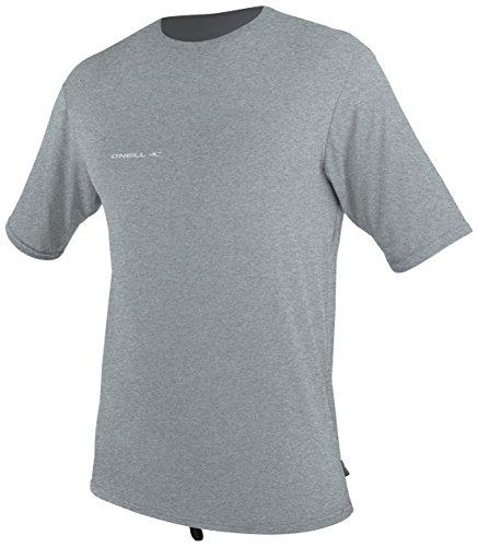 - O'Neill Wetsuits  Men's Hybrid UPF 50+ Short Sleeve Sun Shirt,CoolGrey,Medium