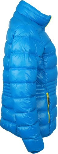 J&N - deportivo Damen Winter Daunen-chaqueta (JN1063) XXL, azul/amarillo