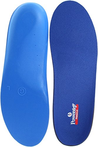 Powerstep Pinnacle Full Length Orthopedic Foot Insoles Support, 12 - 13.5 Men/ 14-15.5 Women from Powerstep