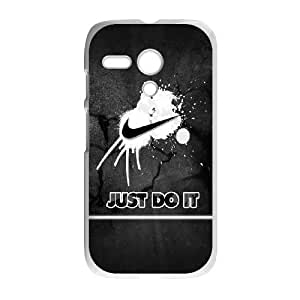 Just Do It Motorola G Cell Phone Case White Protect your phone BVS_584405