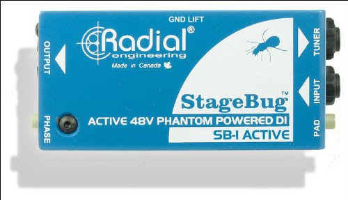 Radial StageBug SB-1 1-Channel Active Instrument Direct Box from Radial