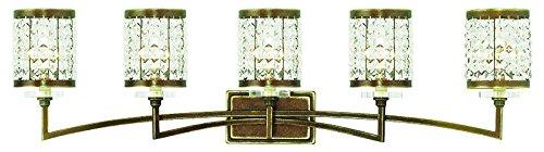Amazon.com: livex iluminación 50565 – 64 Gramercy 5-Light ...