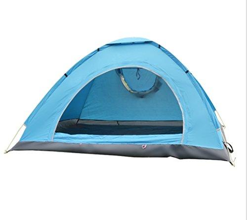 寝室拮抗かすれた屋外のテントの手は、自動キャンプを避けるために自動テントを投げる日焼け止めキャンプテントZXCV