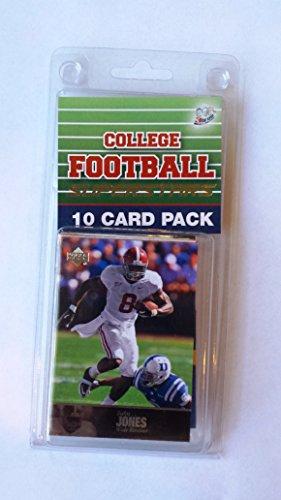 10 card pack college football alabama crimsontide superstar starter kit