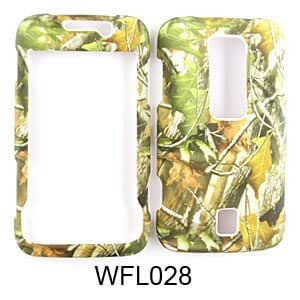 Huawei Ascend M860 Camo/Camouflage Hunter Series, w/ Green Leaves Hard Case/Cover/Faceplate/Snap On/Housing/Protector