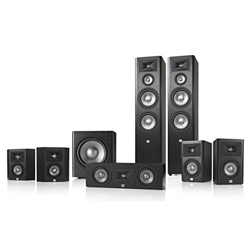 JBL Studio 290 7.1 Home Theater Speaker System Package