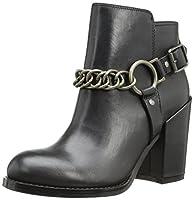 Ash Women's Flesh Boot,Black,38 EU/8 M US