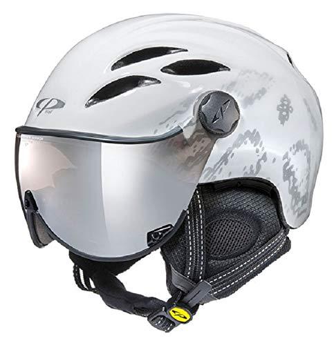 CP(シーピー) スキー ヘルメット 【CURAKO WHB】 ホワイトシャインボアデザイン CPC1926  Large