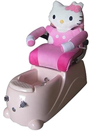amazon com hello kitty children s spa pedicure chair beauty