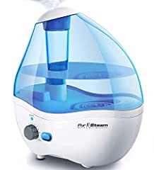 Moisturize the dry air in your home or office in minutes with the PurSteam Ultrasonic Cool Mist Humidifier. This powerful and aesthetically pleasing humidifier is packed with smart features that make it the perfect solution for improving the ...