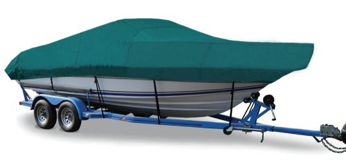 (Taylor Made Products Trailerite Semi-Custom Boat Cover for Walk-Around Cuddy Cabin Boats with Outboard Motor (19'5