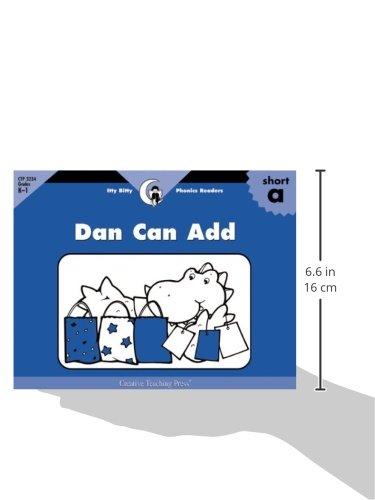 Dan Can Add, Itty Bitty Phonics Reader (Itty-bitty Phonics Readers)