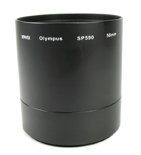 58mm Diameter Adapter Tube for the Olympus SP-590 UZ Digital Camera