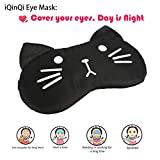 Cute Eye Mask Cover for Sleeping with Gel Pad, Cool & Warm Therapy