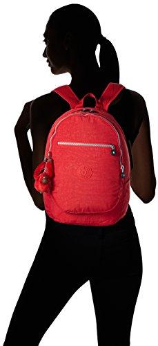 Clas Ref35j Sacs Challenger Kipling H x cm Vibrant B Rouge Red Dos x 26x36x21 T Femme Portés Hq66xfd