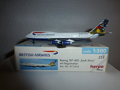 AIRCRAFT MODEL 151 BRITISH AIRWAYS BOEING (British Airways Boeing 747)