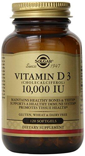 Vitamin D3 Cholecalciferol 10 000 Iu 120 Softgels Buy
