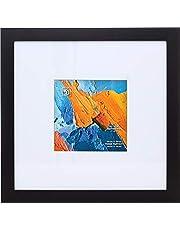 "Kiera Grace Classic Langford Wooden Picture Frame, 14"" x 14"", Black"