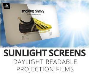 Adwindow - 60 133x75cm - Lámina adhesiva pantalla proyección ...