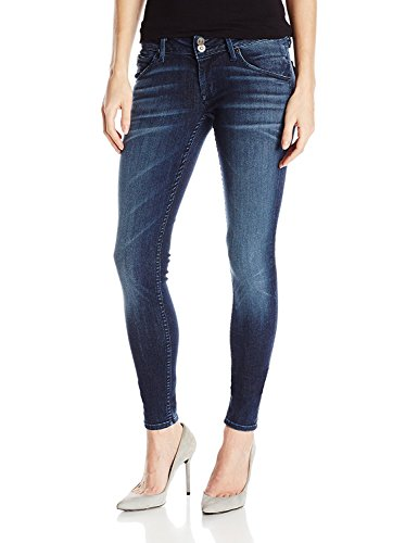 Womens 5 Pocket Hipster Jean - 4