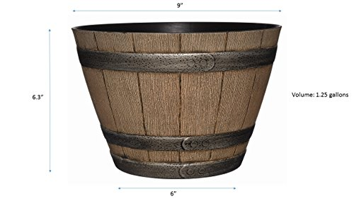GAREDENGOODZ-74-Whiskey-Barrel-Planter-9-Distressed-Oak