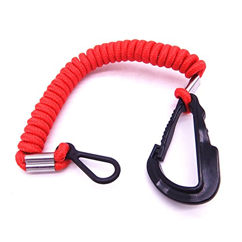 8M0092849 15920T54 15920A54 15920Q54 Emergency Stop Switch Safety Lanyard Cord for Mercury Mercruiser Boat Engine (Boat Lanyard)