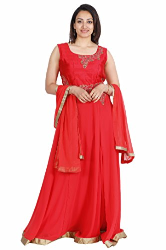 Salwar Suit for Women (Manmandir Georgette Anarkali Readymade)