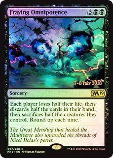 Magic the Gathering Syphon Mind Foil Promo