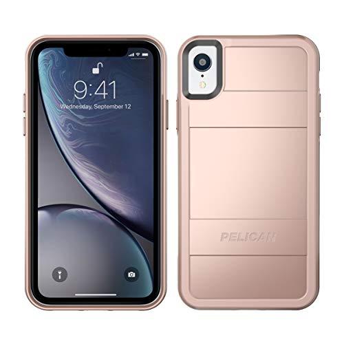 Pelican Protector iPhone XR Case (Metallic Rose Gold)