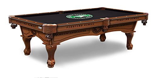 (Holland Bar Stool Co. North Dakota 8' Logo Pool Table)