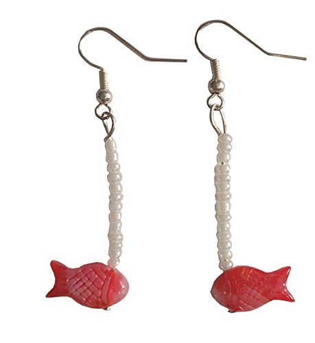 Pinocchio's Cleo the Goldfish Dangle Earrings (Enchanted Wishes Costume)