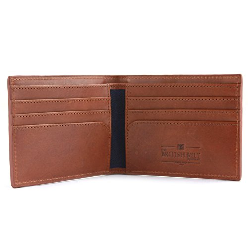Leather British Waxed Langdale Credit Navy Pockets amp; The Co Card amp; Slots 8 Twill Wallet Belt aIxHwH