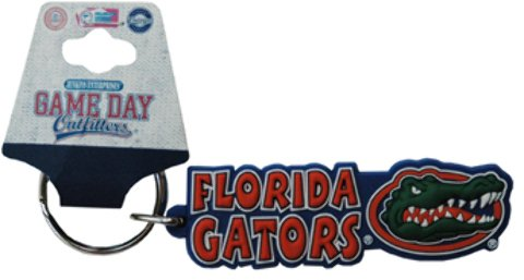 Game Day Outfitters 1937902 University of Florida - Keychain PVC Festive - Case of 144 by Game Day Outfitters