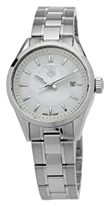 TAG Heuer Women's WV1415BA0793 Carrera Mother-Of-Pearl Dial Watch