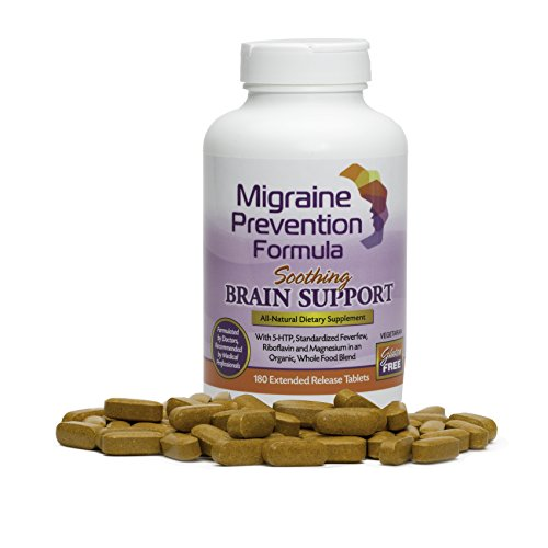 Dr. Knowles - Migraine Prevention Formula - 180 Caplets - 3 Month Supply - Headache Treatment and Relief - Prevent Migraines While You Treat