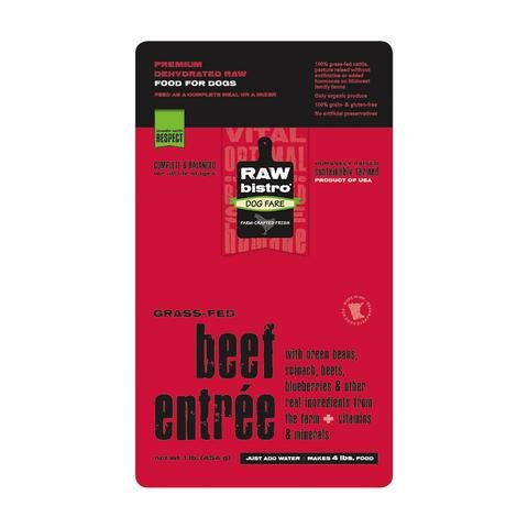 Raw Bistro Dehydrated Dog Food - Beef Entrée - 1 lb by Raw Bistro