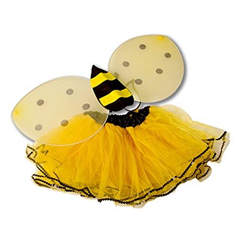Bumble Tutu Bee (Tutu And Wings (12M to 5years, Yellow -)
