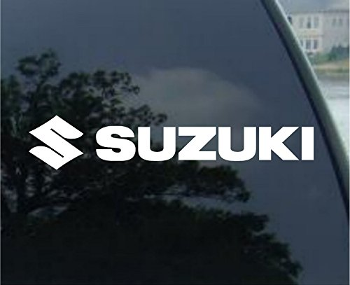 Suzuki Motorcycles - Car, Truck, Notebook, Vinyl Decal Sticker #2533 | Vinyl Color: (Suzuki Stickers)