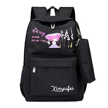 YZBB Estudiantes de secundaria, Harbin Backpackers, mochilas frescas, estudiantes femeninos, versión coreana