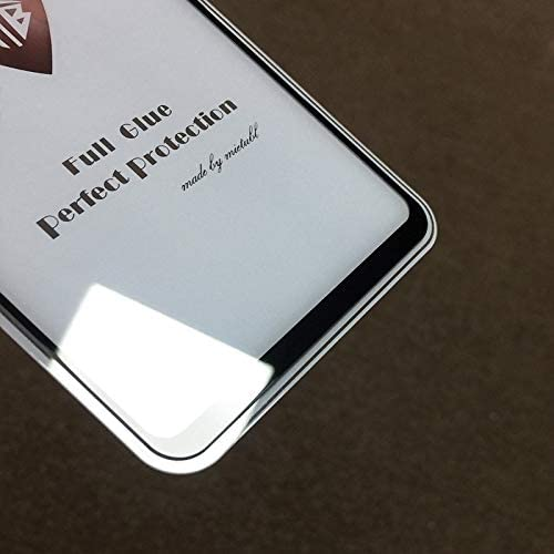 Color : Black LGYD for 25 PCS Full Screen Full Glue Anti-Fingerprint Tempered Glass Film for Oppo A3 Black