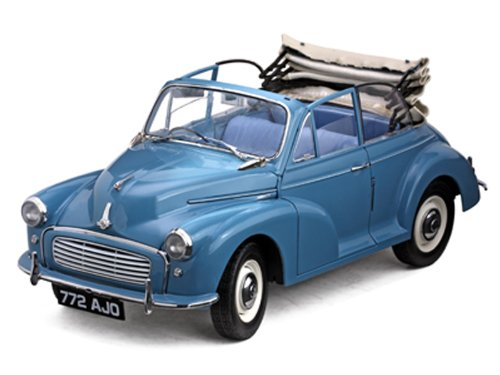 Sunstar 1/12 Scale - 4772 1960 Morris Minor 1000 Tourer - Blue B003TS6LMQ