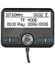 Dab,Phomnd DAB002 DAB Digital Radio Receiver BT4.2 FM Transmitter LCD Display USB Charger for Car (Only for Countries that have DAB Signal)