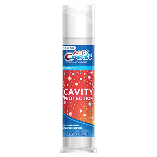 (Crest Kid's Cavity Protection Sparkle Fun Flavor Toothpaste, 4.2 oz)