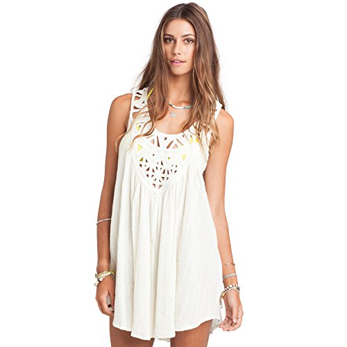 Billabong Womens Just Beachin Cover-Up Swimwear Medium Wh...